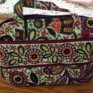 Vera Bradley cosmetic/toiletry travel bag